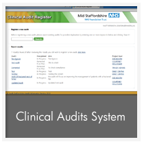 Clinical Audits System