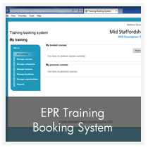 EPR Training Booking System