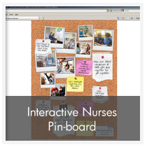 Interactive Nurses Pin-board